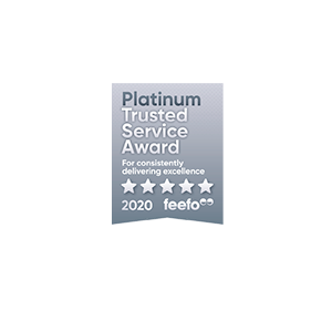 Feefo Platinum 2020 - Business | Hampshire Trust Bank (HTB)